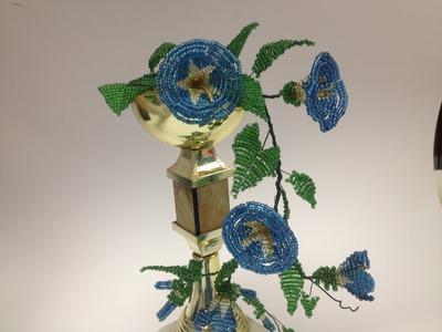 Winden aus Glasperlen. DIY. Teil 2.2. Anna's Perlen