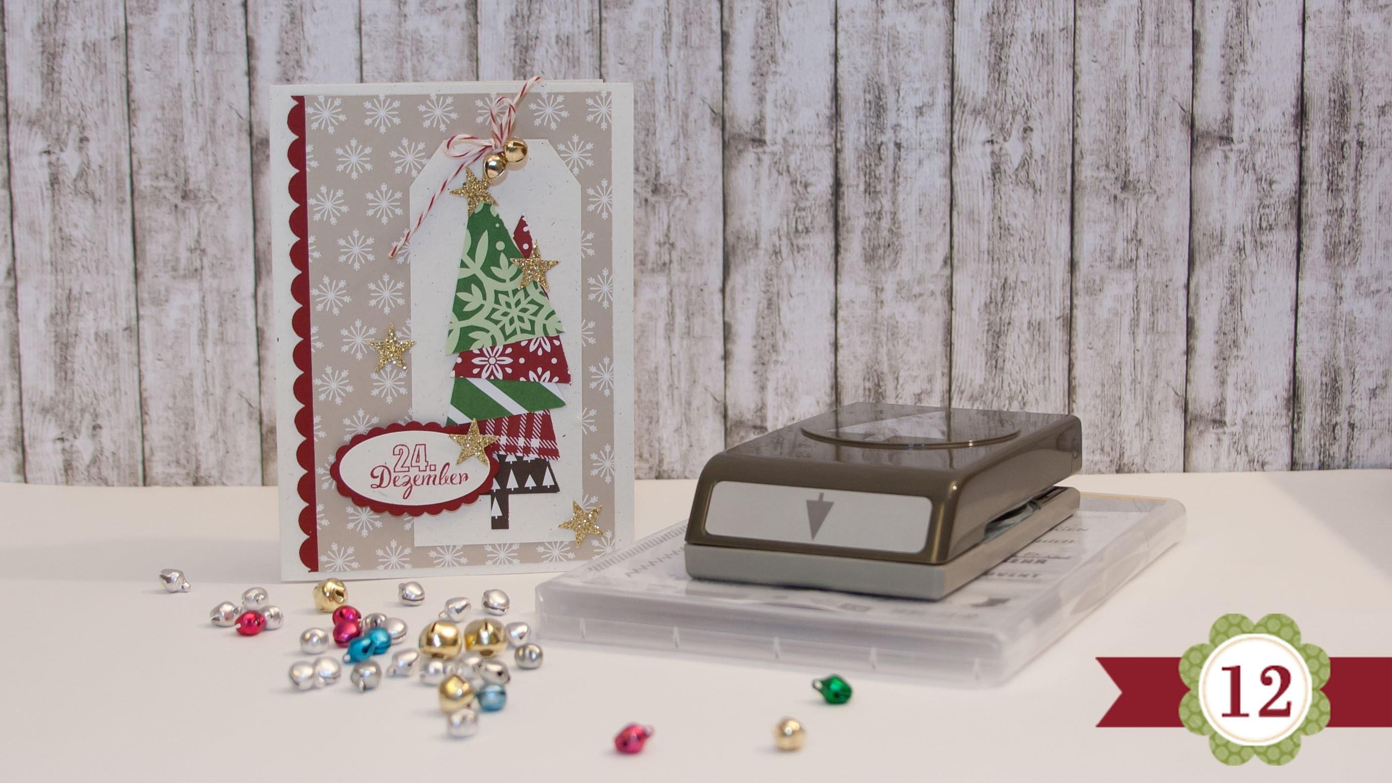 DIY - 12 Karten bis Weihnachten - #12 - Stampin' Up!