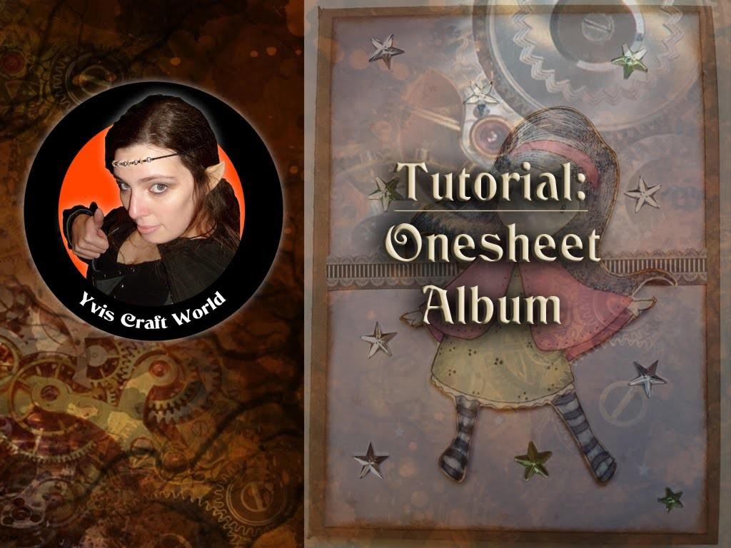 Tutorial: Onesheet-Album (Designteambeitrag für Elas Bastelshop)