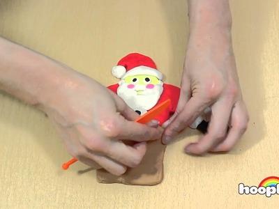 Wie Man Aus Knete Weihnachtsmann Machen - How To Make PlayDoh Santa | Christmas Play-Doh Creations