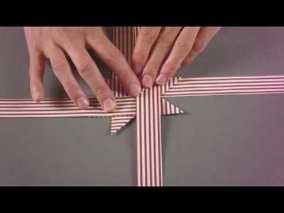 KreativPLUS Itzehoe Faltanleitung: Fröbelstern basteln