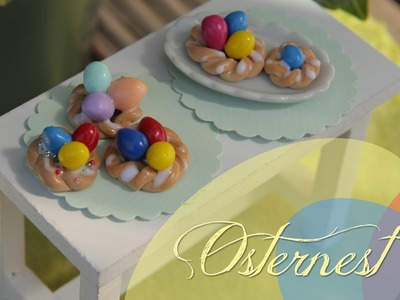 OSTERNEST  | FIMO Tutorial #easterspecial