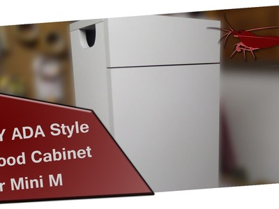 DIY ADA Style Wood Cabinet for Mini M [HD]