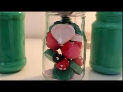 DIY: Geschenkidee: Glück mit Kleeblätter, Schweinchen, Marienkäfer basteln. Fortune Gift