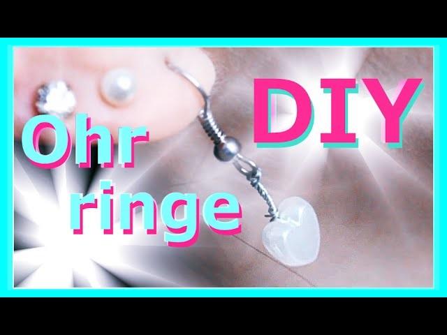 DIY Ideen für Ohrringe