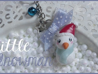 LITTLE SNOWMAN ♡ | FIMO Tutorial #winteredition