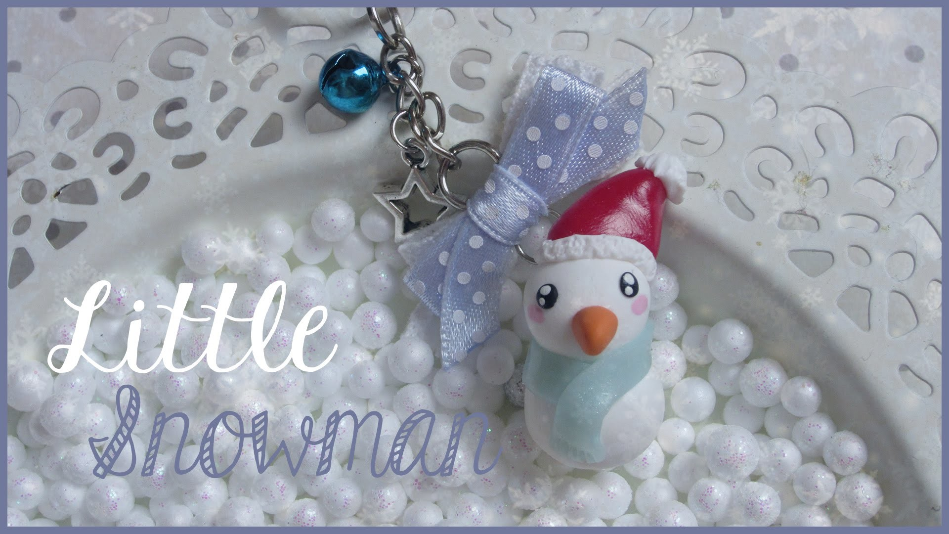 LITTLE SNOWMAN ♡ | FIMO Tutorial #winteredition
