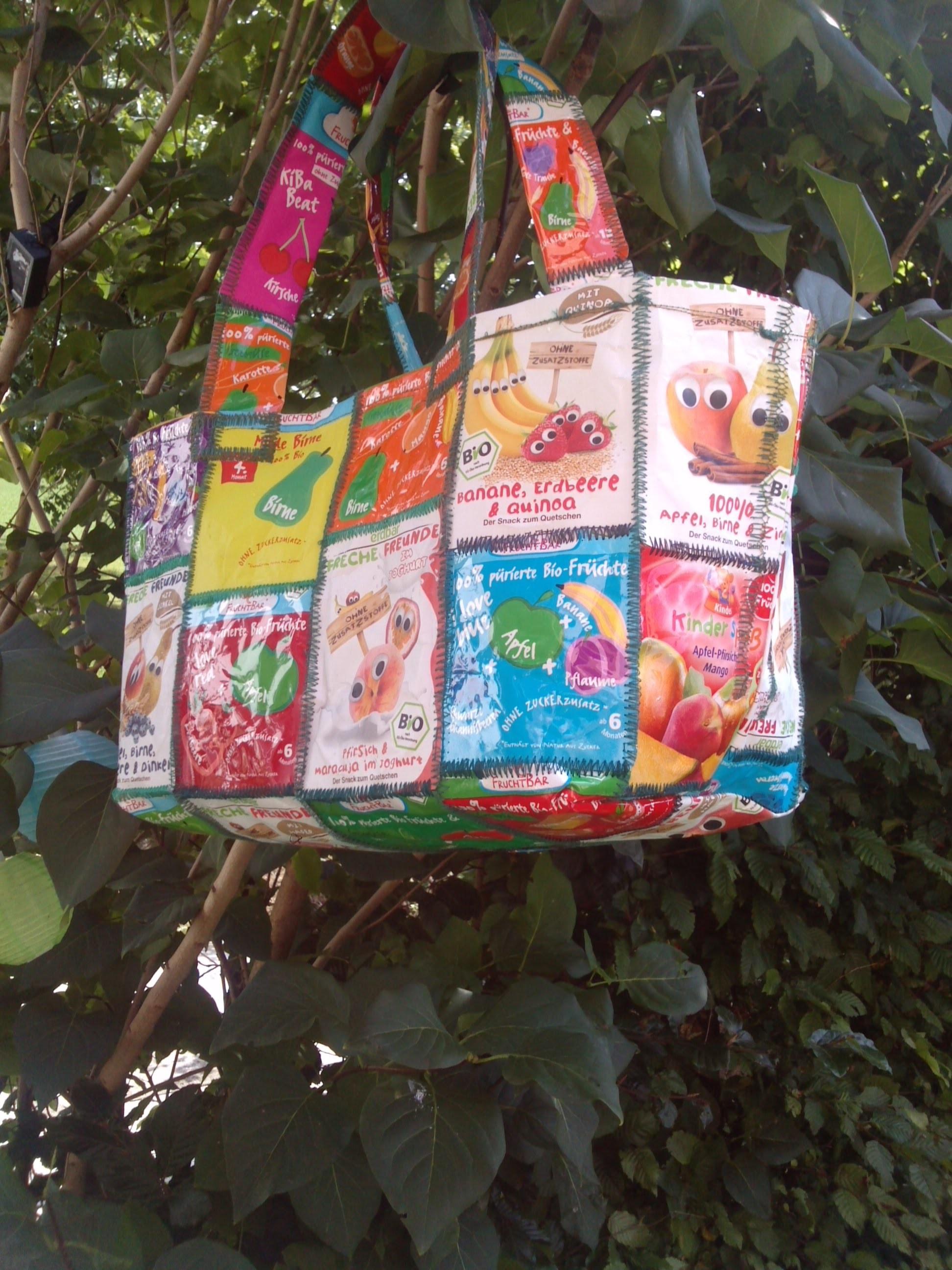 Recycling-DIY: Breitütentasche | Kamelöhr