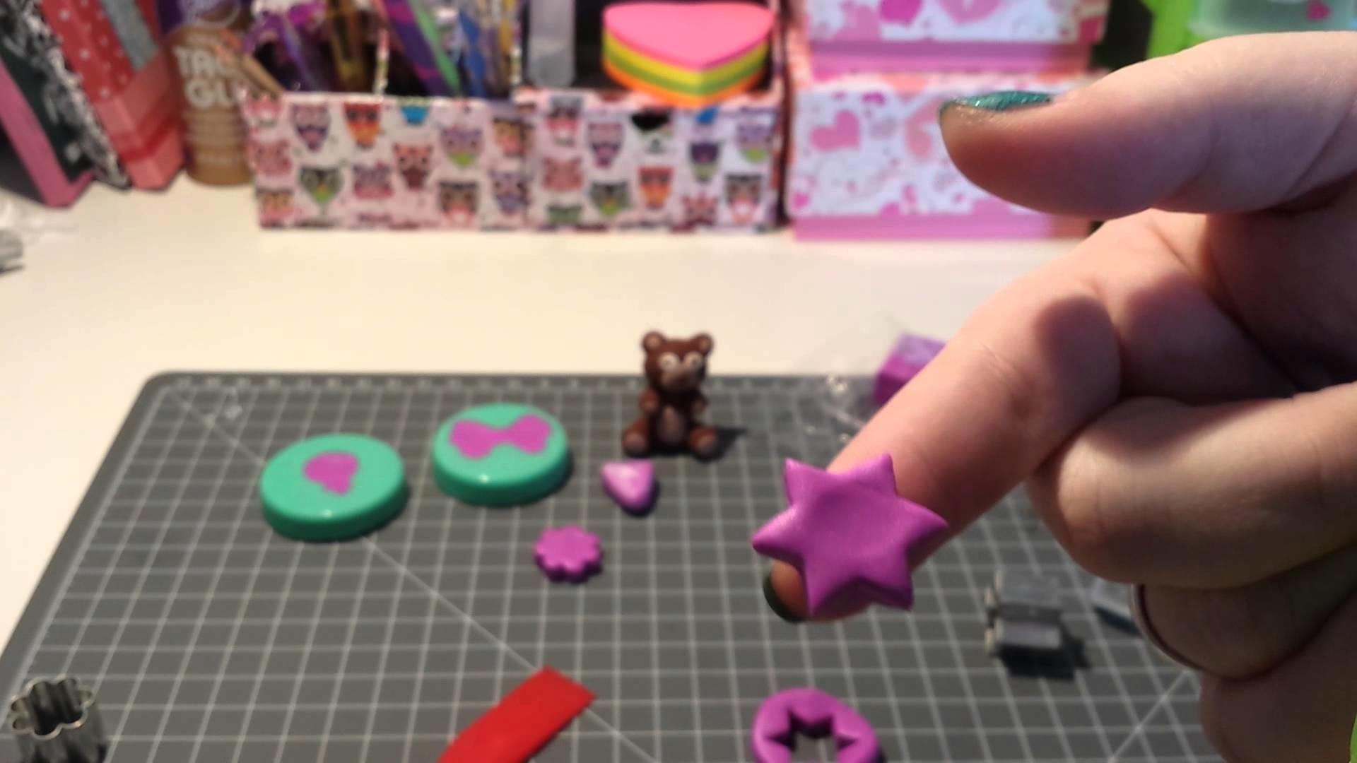 Sculpy Eraser Clay vom Tedi Tutorial :)