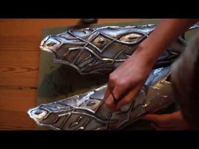 Worbla Armor painting tutorial dry brush technique   Rüstung anmalen Tutorial