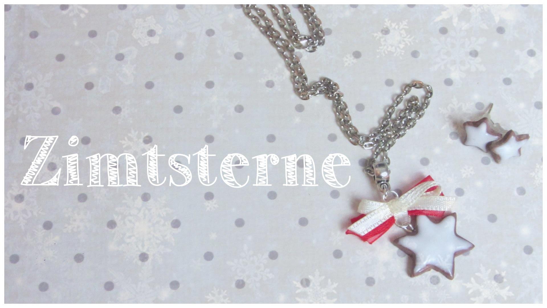 ZIMTSTERNE ♡  | FIMO Tutorial  #winteredition