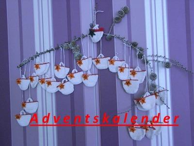 DIY* Adventskalender Häkeln*Taschen Häkeln*Weihnachten*Handarbeit