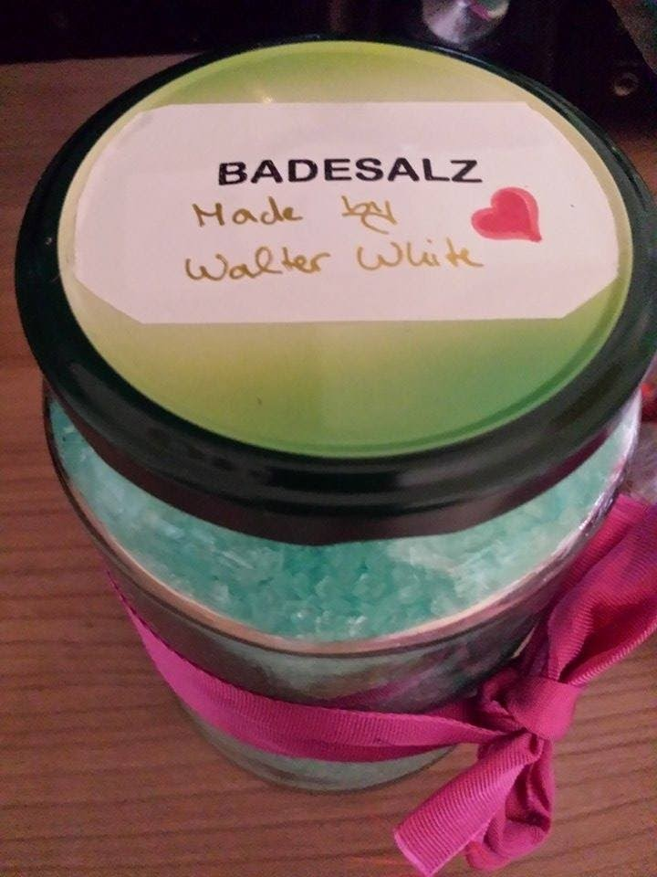 [DIY] Breaking Bad - Crystel Meth Badesalz