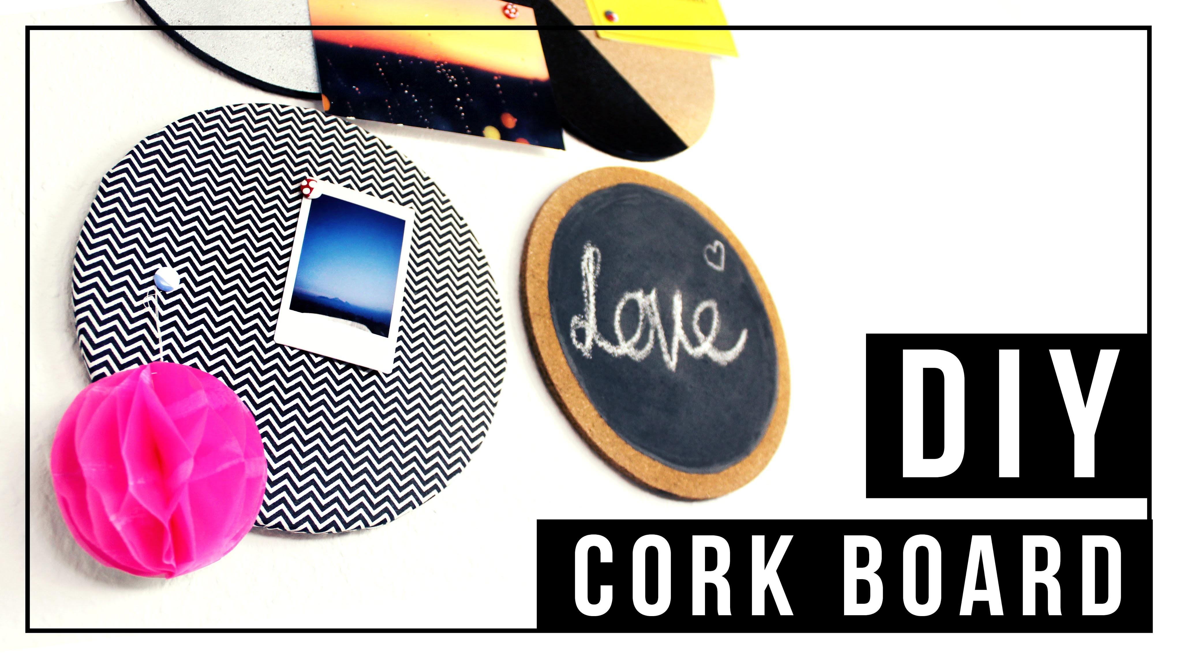 DIY Corkboard | Pinnwand