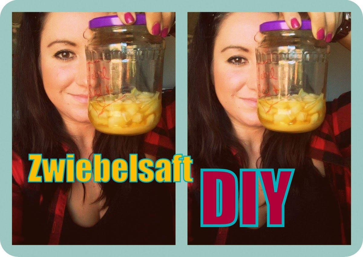 Hustensaft für Kinder Zwiebelsaft Rezept | Husten | DIY selber machen