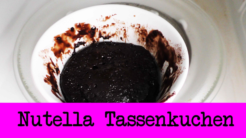 Nutella Tassen Kuchen | Nur 3 Zutaten | Super einfacher Mikrowellenkuchen