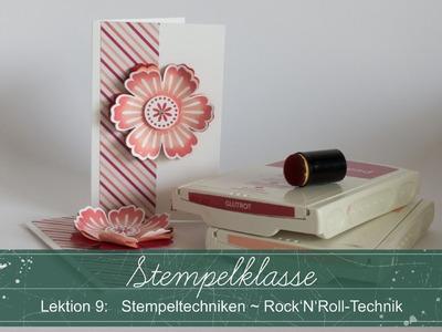 Stempelklasse #09: Stempeltechniken - Rock'N'Roll Technik - Stampin' Up!