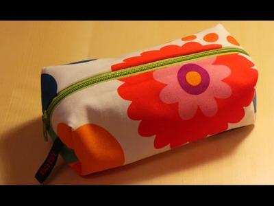 DaIsY´s DIY - Kosmetiktasche mit Reißverschluss selber nähen