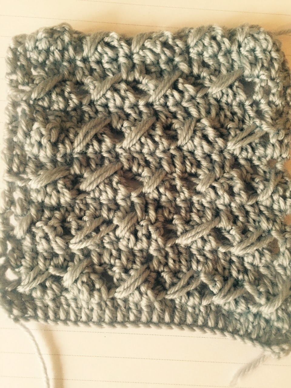 Ihr 92. Quadrat für ihre Patchwork Decke Häkeln