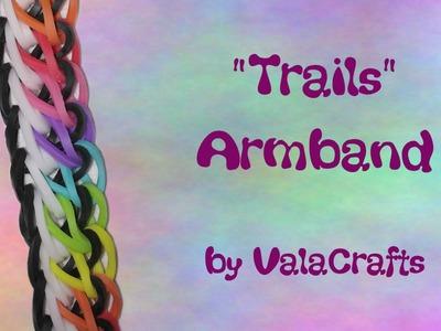 NEU Rainbow Loom Trails Armband (Original Design)