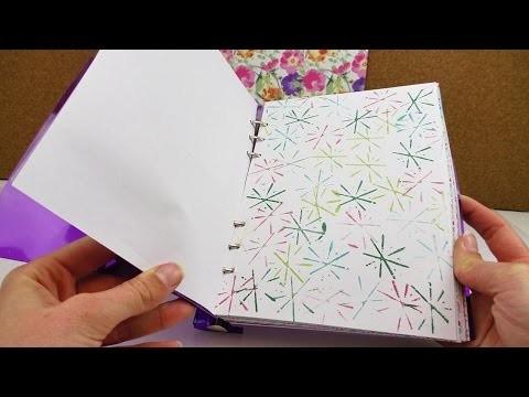 DIY Inspiration Challenge #36 Musterpapier DIY   Kathis Challenge   Tutorial - Do it yourself