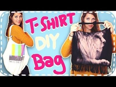 DIY-Tasche aus T-Shirts | 2 Arten | Upcycling ohne Nähen