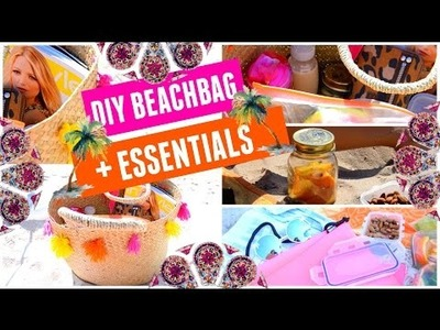 DIY TUMBLR BEACHBAG + ESSENTIALS I maikekrombach