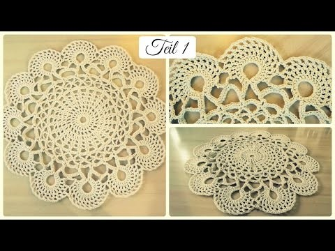 Häkelteppich aus Baumwollseil #1 * DIY * Crochet Rug [eng sub]