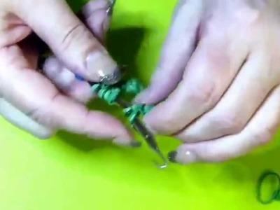 Meine Rainbow Loom 3D Rose - Teil 1 - von Lachtäubchen