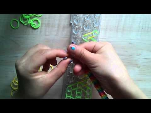 Rainbow loom schlange tutorial