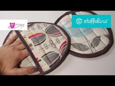 Verlosung & runde Topflappen nähen Stoffolino - DIY Eule