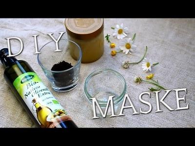 DIY Gesichtsmaske 2 in 1 | Peeling & Feuchtigkeit für reine glatte Haut #Bonnytrash