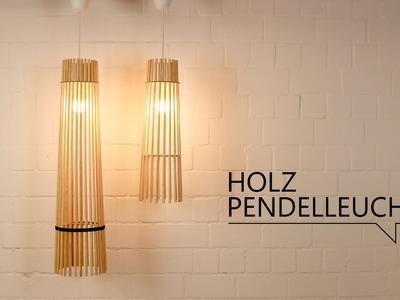 DIY - Holz Pendelleuchte. FREE DOWNLOAD TEMPLATES