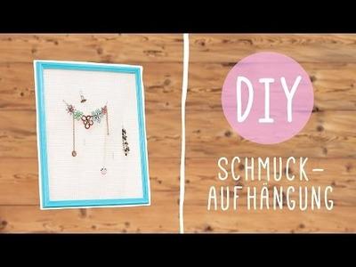 DIY mit Nina Moghaddam: Schmuck Aufhängung selbst gemacht ♡ ♡ ♡