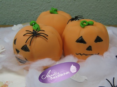 Halloweentorte Kürbis - Halloween - Halloweensüssigkeiten - Pumpkin.DIY Tortenrezepte