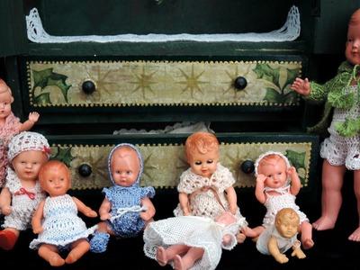 Puppenkleidung, doll clothes, HÄKELN, CROCHET,