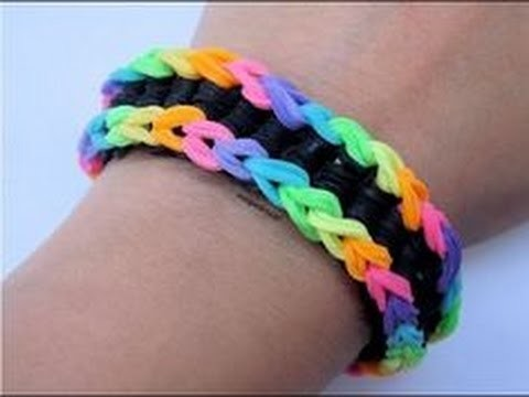 Rainbow Loom Monster Tail Armband