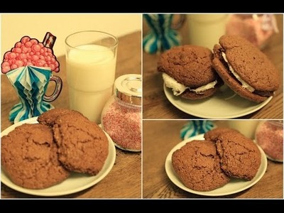 DIY CRUNCHY CHOCO COOKIES in NUR 15 min!
