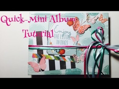 DIY Quick-Mini Album [ tutorial | deutsch]