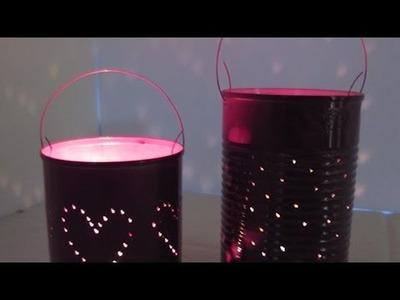 Hübsche Blechdosen-Laternen Basteln - DIY Home - Guidecentral