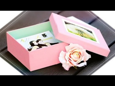 DIY POLAROID FOTOBOX I Last Minute Geschenkidee I Gina Mie