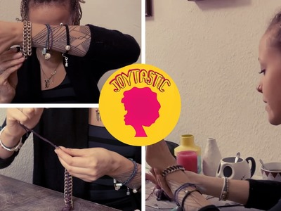 DIY stylische Armbänder zum selbermachen!