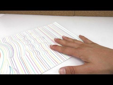 3D Hand zeichnen. ganz einfach malen. Geschenk für eure Eltern. DIY Kids Club