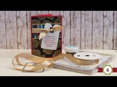 DIY - 12 Karten bis Weihnachten - #06 - Stampin' Up!