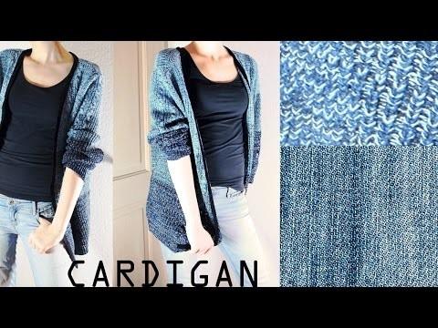 DIY Cardigan ohne zu nähen!. Miss Sophie