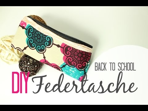 DIY Federtasche I Back to School