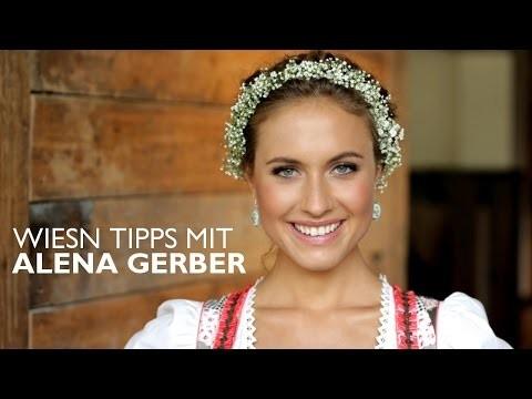 Oktoberfest MUST-HAVES & Blumenkranz Frisur DIY von ALENA GERBER – OTTO
