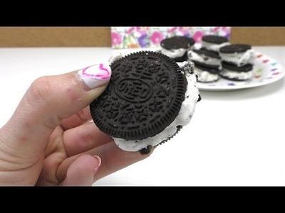 Oreo Ice Cream Sandwich - leckere Eissandwiches selber machen. DIY Anleitung deutsch