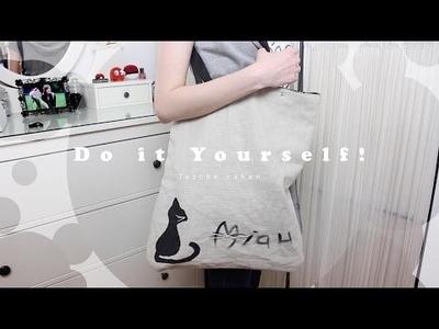 Tasche nähen für Anfänger *DIY*