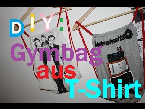 DIY: Gymbag aus T-Shirt
